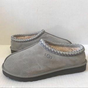UGG Mens TASMAN Slip on Slippers Seal Gray 10 NEW